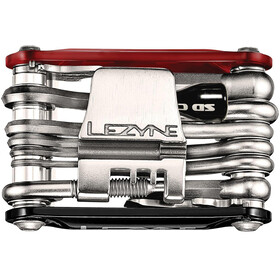 Lezyne Rap-21 CO2 Multifunktionswerkzeug rot/schwarz